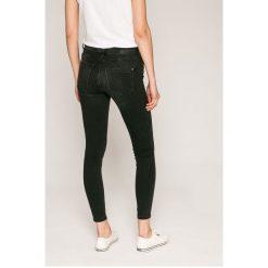 Noisy May - Jeansy Lucy. Czarne jeansy damskie rurki marki Noisy May, z bawełny. W wyprzedaży za 89,90 zł.