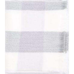 Szal w kratę - Fioletowy. Fioletowe szaliki damskie marki bonprix, z nadrukiem. Za 69,99 zł.