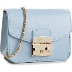 Torebka FURLA - Metropolis 967796 B BGZ7 ARE Fiordaliso e. Niebieskie torebki klasyczne damskie Furla, ze skóry. Za 839,00 zł.