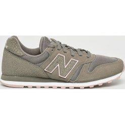 New Balance - Buty WL373MMS. Szare buty sportowe damskie marki New Balance, z gumy. W wyprzedaży za 259,90 zł.