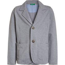 Benetton Marynarka grey. Niebieskie kurtki dziewczęce marki Benetton, z bawełny. Za 129,00 zł.
