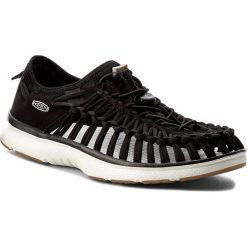 Sandały KEEN - Uneek 02 1017050 Black/Harvest Gold. Czarne sandały męskie marki Keen, z materiału. W wyprzedaży za 249,00 zł.