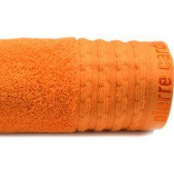 Kąpielówki męskie: Ręcznik w kolorze pomarańczowym