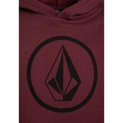 Volcom STONE Bluza z kapturem crimson. Czerwone bluzy chłopięce rozpinane marki Volcom, z bawełny, z kapturem. Za 199,00 zł.