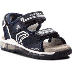 Sandały GEOX - J S. Android B. A J820QA 014BU C4002  Navy. Niebieskie sandały męskie skórzane marki Geox. W wyprzedaży za 219,00 zł.
