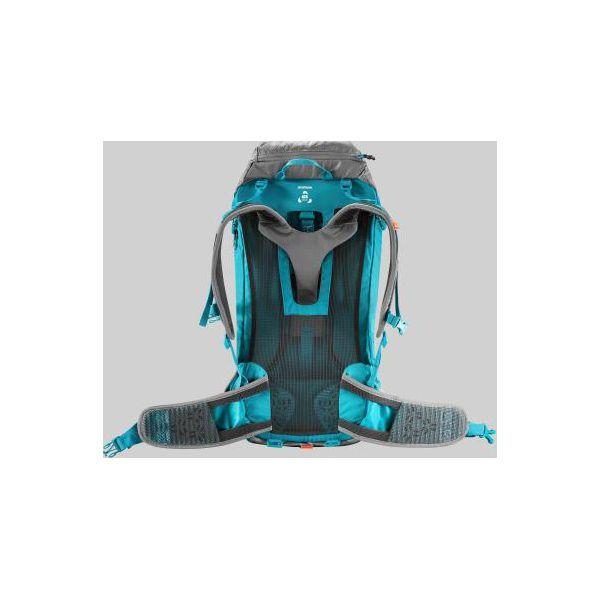 972403bb3d37a Plecak turystyczny MH500 40 l dla kobiet - Szare plecaki damskie QUECHUA,  bez wzorów, z elastanu. Za 249,99 zł. - Plecaki damskie - Torebki i plecaki  ...