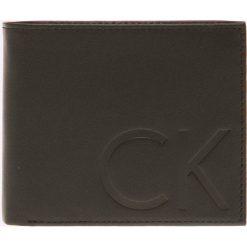 Calvin Klein Jeans - Portfel skórzany. Czarne portfele męskie marki Calvin Klein Jeans, z jeansu. Za 299,90 zł.