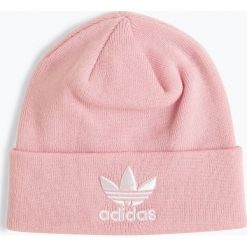 Adidas Originals - Czapka damska, różowy. Czerwone czapki damskie adidas Originals, z haftami. Za 99,95 zł.