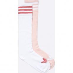 Adidas Originals - Skarpetki (2-pack). Szare skarpetki damskie adidas Originals, z bawełny. W wyprzedaży za 49,90 zł.