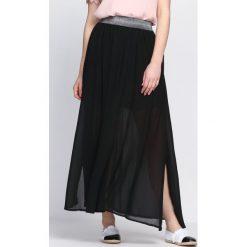 Długie spódnice: Czarna Spódnica Cafe Afrika