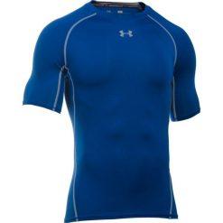 Under Armour Koszulka męska HG SS T-RL//STL niebieska r. XL (1257468-400). Niebieskie koszulki sportowe męskie marki Under Armour, m. Za 102,36 zł.