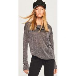 Sweter z szerokim golfem - Szary. Szare golfy damskie Reserved, l. Za 59,99 zł.