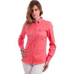 Bluzki damskie: Bluzka w kolorze koralowym