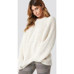 Swetry oversize damskie: Trendyol Sweter oversize - Offwhite