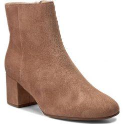 Botki HÖGL - 4-104112 Nougat 2500. Czarne buty zimowe damskie marki HÖGL, z materiału. W wyprzedaży za 359,00 zł.