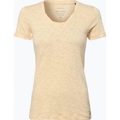 Marc O'Polo - T-shirt damski, beżowy. Brązowe t-shirty damskie Marc O'Polo, xl, z okrągłym kołnierzem. Za 89,95 zł.