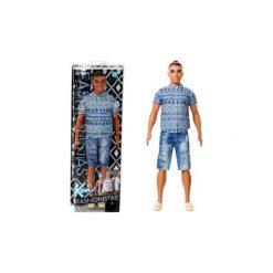 Odzież dziecięca: Mattel Lalka Barbie Ken Szorty Jeans, Koszula
