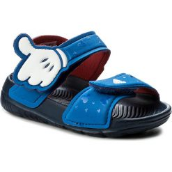 Sandały adidas - Dy M&M AltaSwim I CQ0107 Blue/Ftwwht/Conavy. Niebieskie sandały męskie skórzane marki Adidas. Za 129,00 zł.