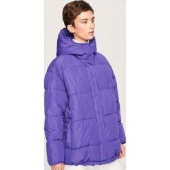 Pikowana kurtka z kapturem - Fioletowy. Fioletowe kurtki damskie pikowane marki DOMYOS, l, z bawełny. Za 249,99 zł.