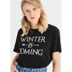 T-shirt Game of Thrones - Czarny. Czarne t-shirty damskie Sinsay, l. Za 39,99 zł.