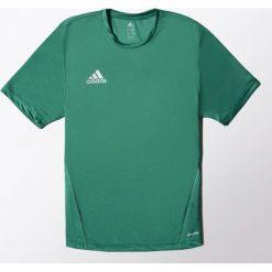 Adidas Koszulka piłkarska męska Core Training Jersey zielona r. L (S22395). Zielone koszulki do piłki nożnej męskie marki Adidas, l, z jersey. Za 61,57 zł.
