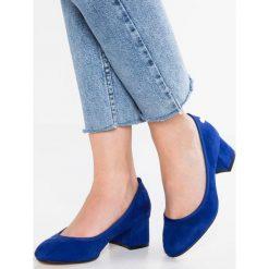 Buty ślubne damskie: XTI Czółenka azul