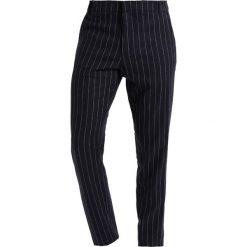 Chinosy męskie: Soulland WILSON CLASSIC  Spodnie materiałowe navy/white