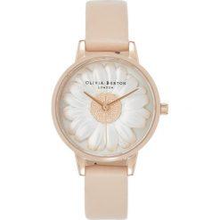 Olivia Burton 3D DAISY Zegarek nude. Czerwone, analogowe zegarki damskie Olivia Burton. Za 719,00 zł.