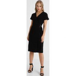 Sukienki hiszpanki: Dorothy Perkins Petite RING WRAP DRESS Sukienka letnia black