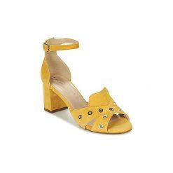 Sandały France Mode  ODEON SETE. Żółte sandały damskie France Mode. Za 439,20 zł.