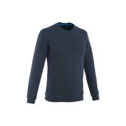 Sweter turystyczny NH150 męski. Niebieskie swetry klasyczne męskie marki bonprix, m, melanż. Za 39,99 zł.