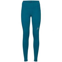 Odlo Spodnie damskie Tights SLIQ niebieskie r. S (349231/40227/S). Niebieskie spodnie sportowe damskie Odlo, s. Za 152,44 zł.