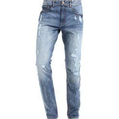 Jeansy męskie regular: Shine Original Jeansy Slim Fit blue dyed