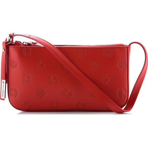 06596706e1435 78-4-101-9 Torebka damska - Czerwone torebki klasyczne damskie ...