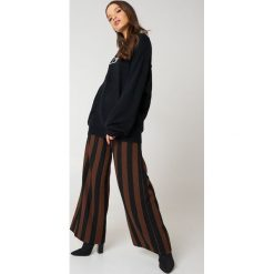 Bluzy rozpinane damskie: Calvin Klein Bluza Sienna Crew Neck Logo - Black