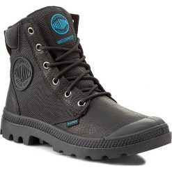 Trapery PALLADIUM - Pampa Sport Cuff Wpn 73234-001-M Black. Czarne buty zimowe damskie Palladium, z materiału, za kostkę. W wyprzedaży za 369,00 zł.