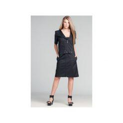Sukienki hiszpanki: Sukienka & bluzka 2in1 z wypinanym dekoltem Mia128