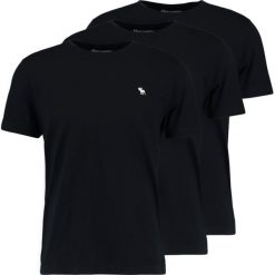 T-shirty męskie: Abercrombie & Fitch CREW 3 PACK Tshirt basic black