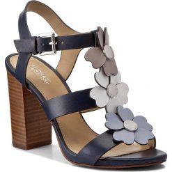 Sandały damskie: Sandały MICHAEL KORS - Kit Sandal 40S7KIHA1L Admral/Pgrey