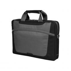 """Sumdex PON-318BK-1 15""""-16"""" czarna. Czarne torby na laptopa Sumdex, w paski. Za 79,90 zł."""