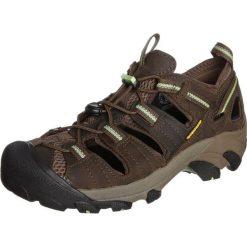 Keen ARROYO II Obuwie do biegania Turystyka chocolate chip/ sap green. Brązowe buty trekkingowe damskie Keen, z gumy, do biegania. W wyprzedaży za 399,20 zł.