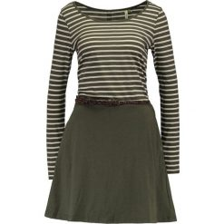 Odzież damska: Ragwear DAYA ORGANIC Sukienka z dżerseju olive