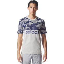 Adidas Koszulka męska ESS AOP Tee szara r. M (BQ9597). Szare koszulki sportowe męskie Adidas, m. Za 104,70 zł.