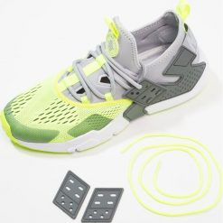 Tenisówki męskie: Nike Sportswear AIR HUARACHE DRIFT Tenisówki i Trampki wolf grey/volt/dark grey/white