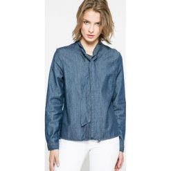 Vero Moda - Koszula. Szare koszule jeansowe damskie marki Vero Moda, l, casualowe, z długim rękawem. W wyprzedaży za 59,90 zł.