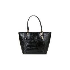 Torby shopper Guess  KAMRYN TOTE. Czarne shopper bag damskie Guess, z aplikacjami. Za 599,00 zł.