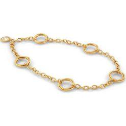 Naszyjniki damskie: Naszyjnik w kolorze złotym