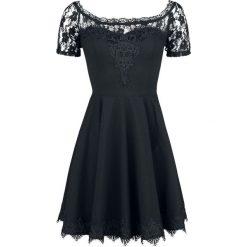 Spin Doctor Amara Mini Dress Sukienka czarny. Niebieskie sukienki koronkowe marki bonprix, na lato, w kwiaty, z asymetrycznym kołnierzem. Za 284,90 zł.