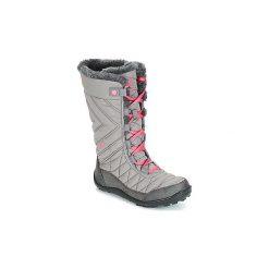 Śniegowce Dziecko Columbia  YOUTH MINX MID II WATERPROOF OMNI-HEAT. Szare buty zimowe chłopięce Columbia. Za 342,00 zł.