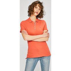 Tommy Jeans - Top. Różowe topy damskie marki Tommy Jeans, l, z bawełny. W wyprzedaży za 149,90 zł.